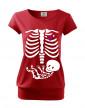 Vtipné tričko s potiskem pro těhotné maminky Kostřička 2