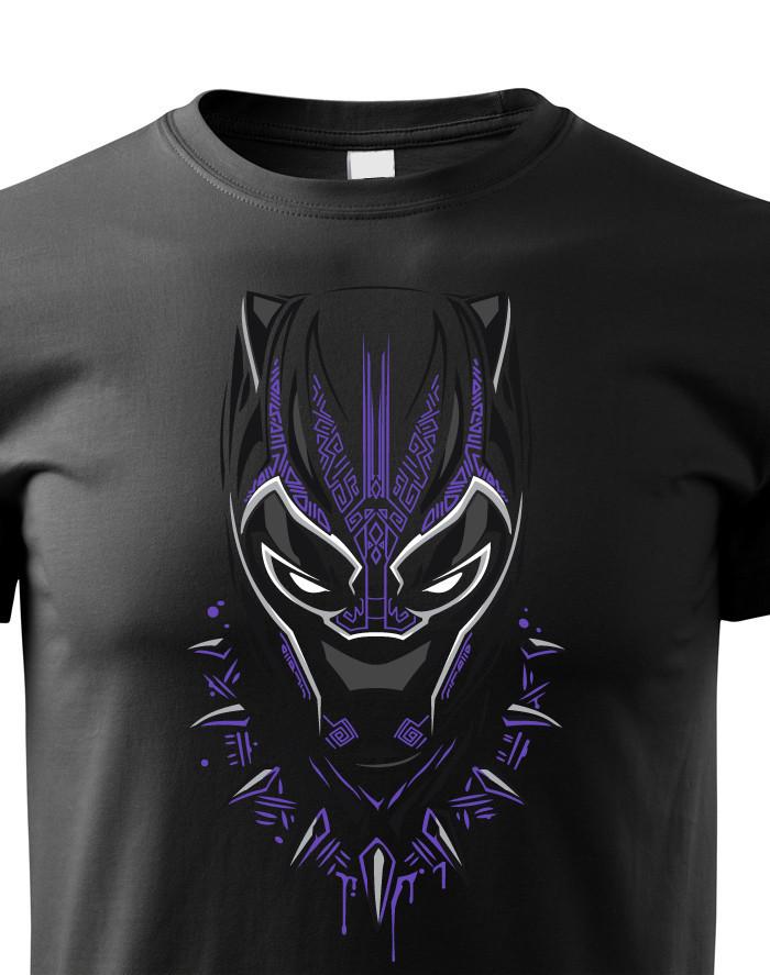 Dětské tričko s potiskem Black Panther