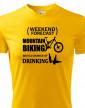 Pánské tričko MTB - Weekend forecast