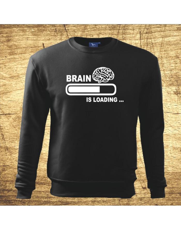 Brain Loading Mikina bez kapuce