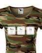Dámské tričko s potiskem NaSrAt