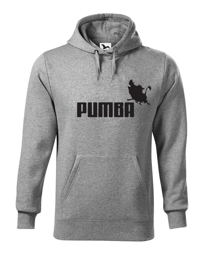 Pánská mikina s potiskem Pumba - originální dárek k narozeninám