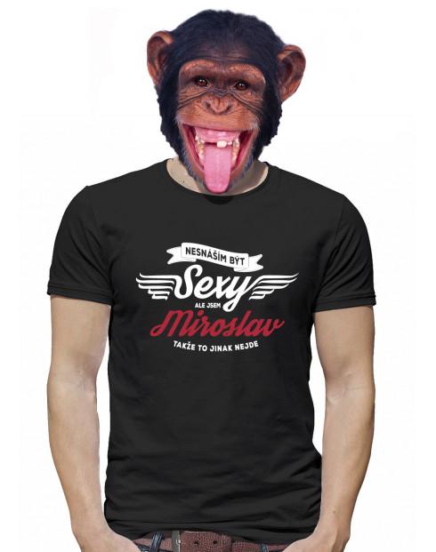 Pánské tričko Nesnáším být sexy, ale jsem ...