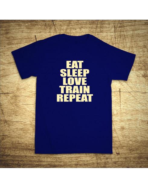 Eat, sleep, love, train, repeat