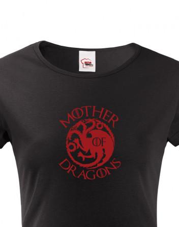 Dámské tričko Mother of Dragons - Khaleesi