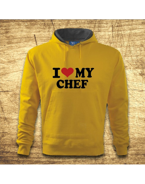 I love my chef