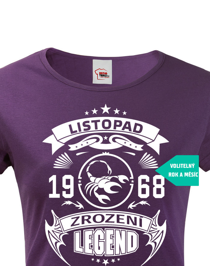 Dámské tričko Zrození legendy
