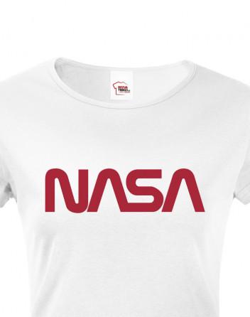 Dámské tričko s potiskem NASA 2