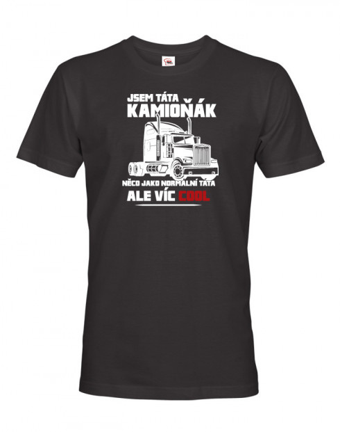 Pánské tričko Kamioňák táta
