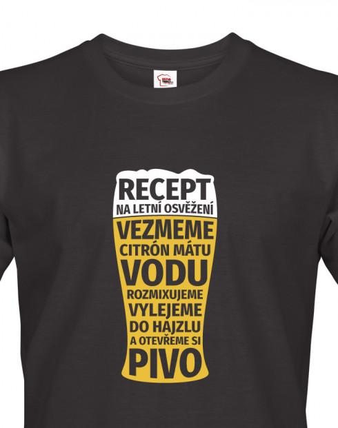 Pánské tričko Recept na letní osvěžení