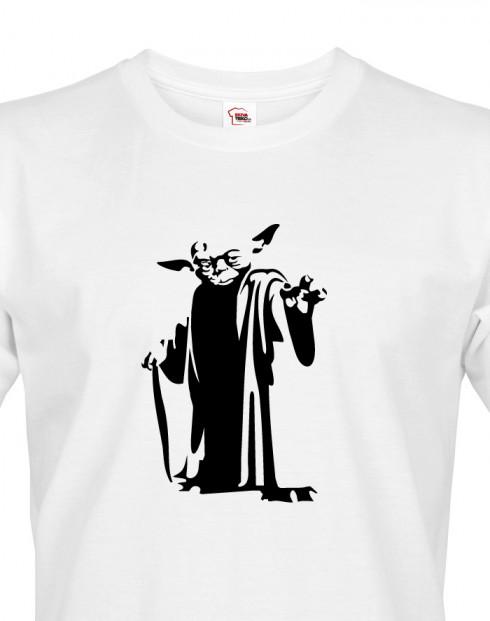 Pánské tričko Star Wars Mistr Yoda