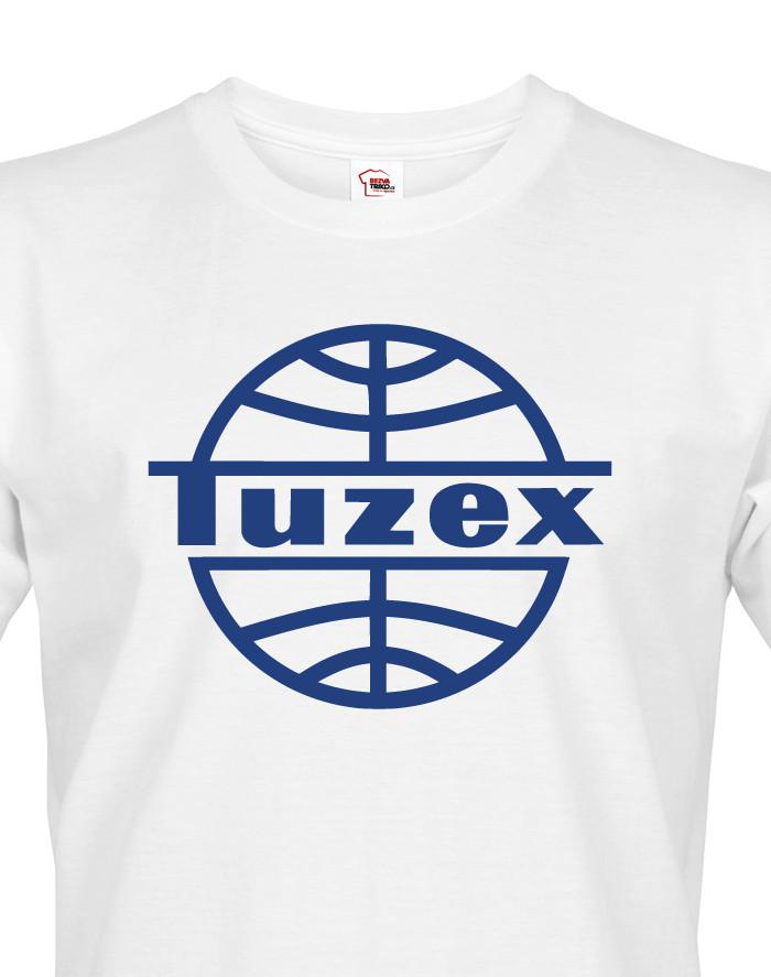 Pánské tričko s potiskem Tuzex