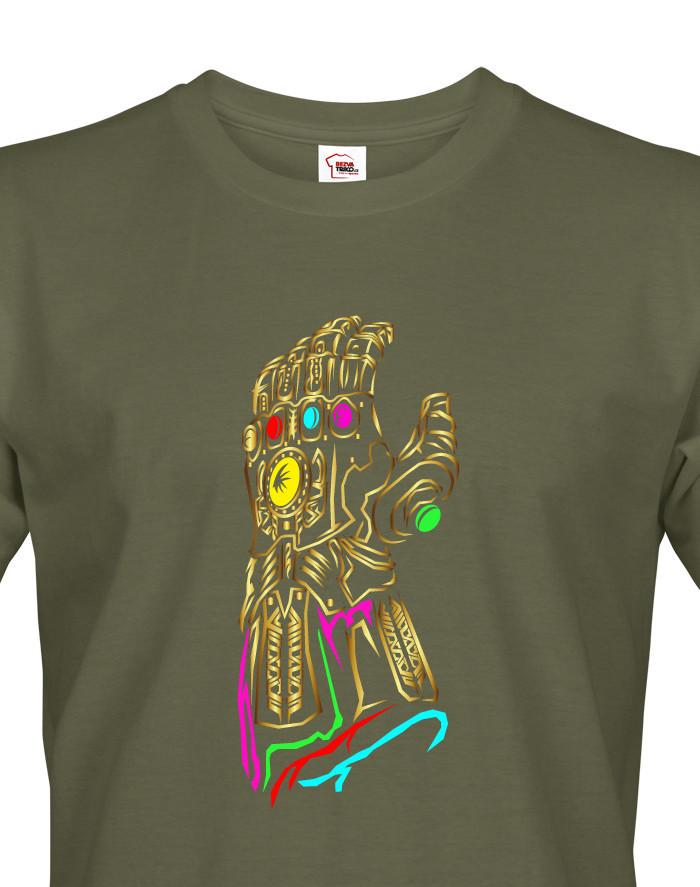 Pánské tričko s motivem Thanos Infinity War