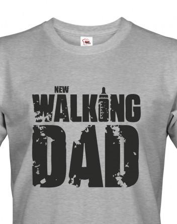 Vtipné tričko pro tatínka New Walking Dad
