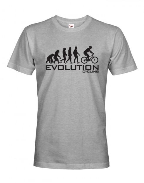 Pánské cyklo tričko Evoluce cyklistiky
