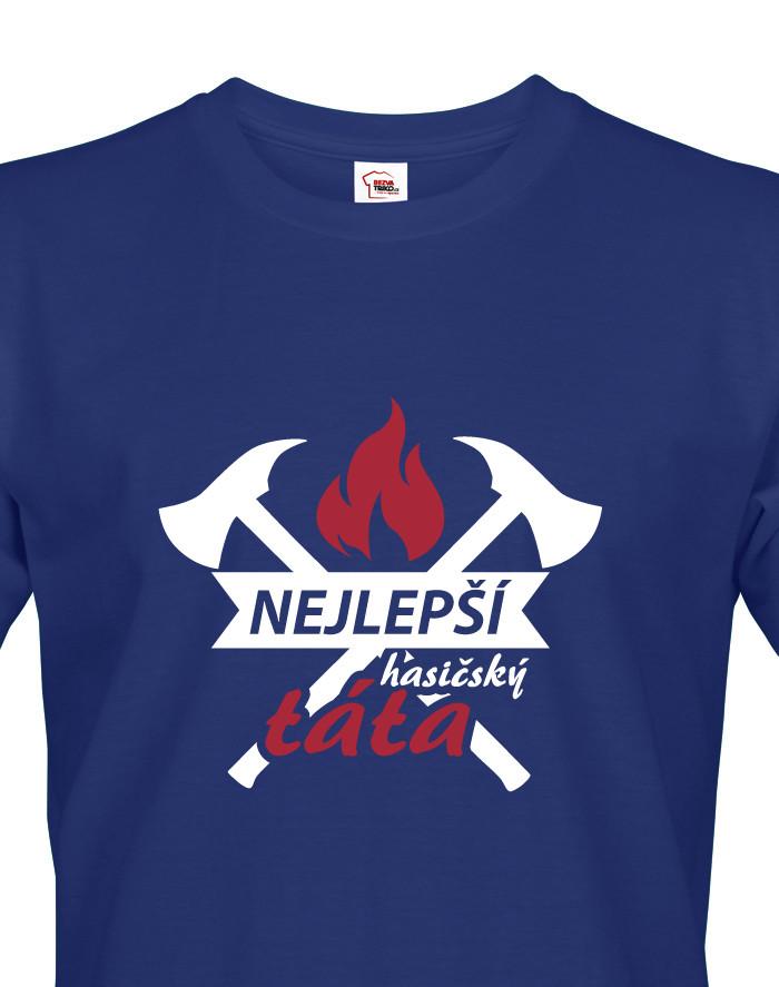 Tričko pro hasiče Hasičský táta
