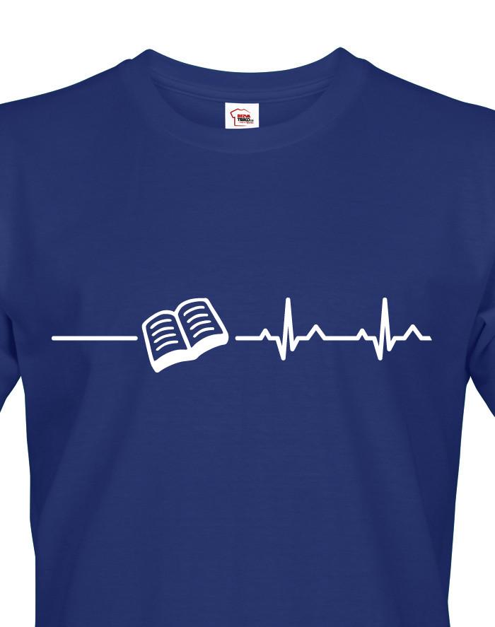 Pánské tričko pro milovníky knížek a četby