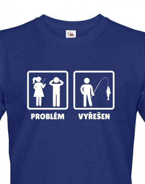 Tričko pro rybáře Problém - Vyřešen