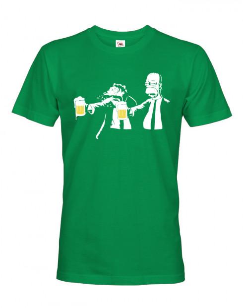 Vtipné tričko Homer Pulp Fiction