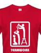 Pánské tričko pro kamarády Teamwork