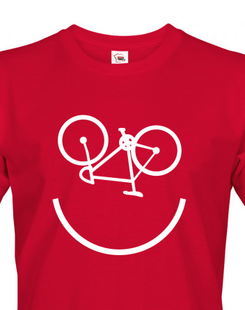 Pánské tričko cyklo úsměv