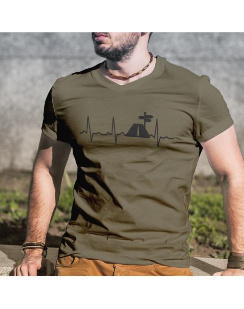 Pánské tričko Tep cestovatele
