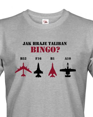 Army triko Jak hraje Taliban bingo?