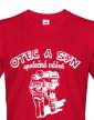 Triko pro hasiče - Otec a syn, společná vášeň