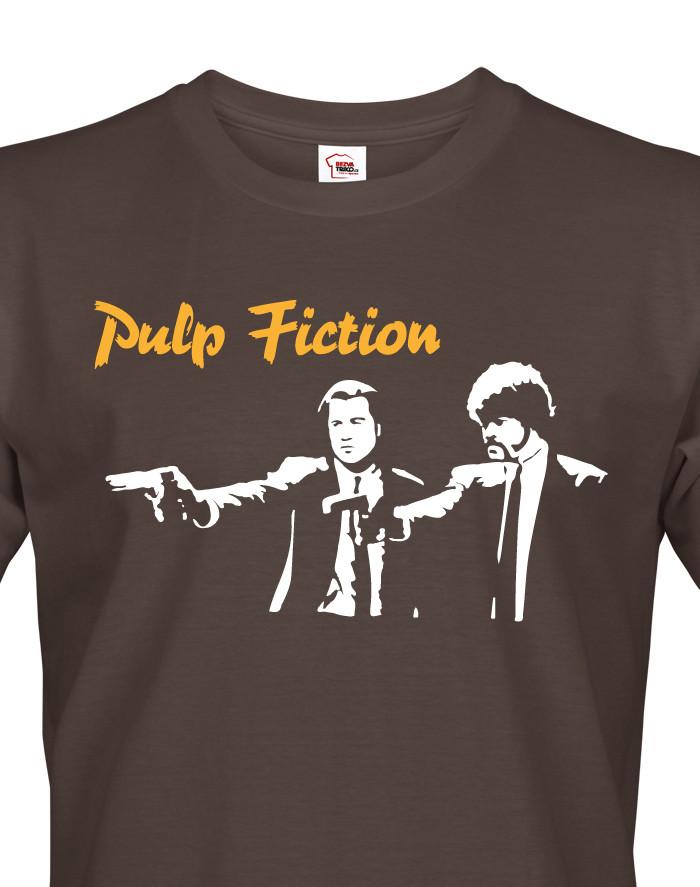 Pánské tričko s motivem filmu Pulp Fiction - triko pro filmové fanoušky