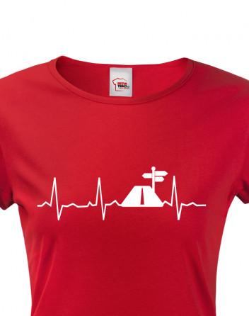 Dámské tričko Tep cestovatele