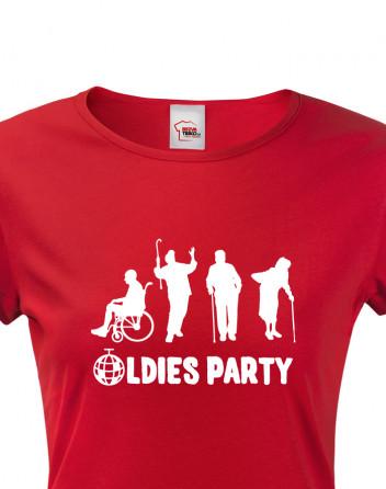 Dámské triko OLDIES PARTY