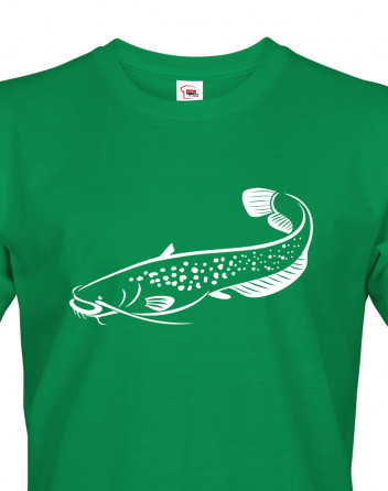 Vtipné triko pro rybáře Sumec