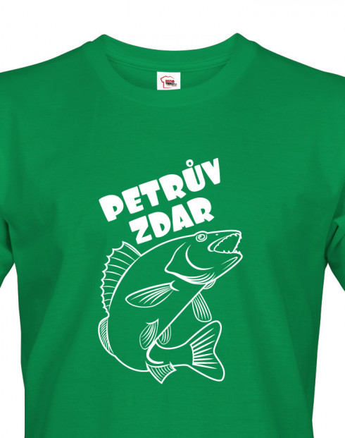 Tričko pro rybáře Petrův zdar