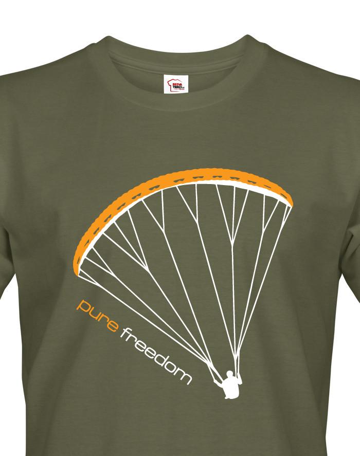 Paragliding tričko Pure Freedom
