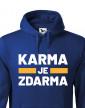 Pánská mikina Karma je zdarma