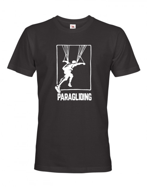 Tričko pro fanoušky paraglidingu