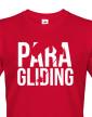 Pánské tričko s motivem paragliding