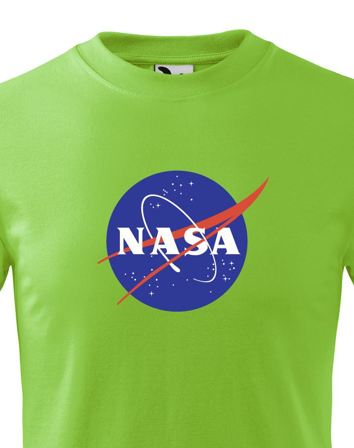 Dětské tričko s potiskem vesmírné agentury NASA
