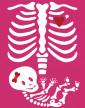 Těhotenské tričko Kostřička děvčátko