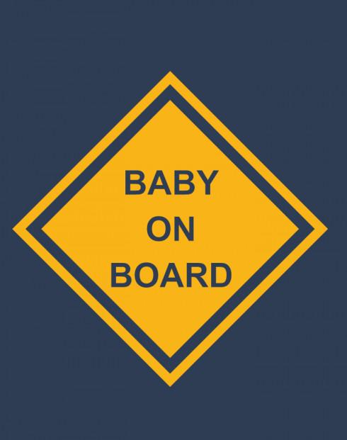 Těhotenské tričko Baby on board