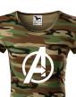 Dámské tričko s motivem Avengers