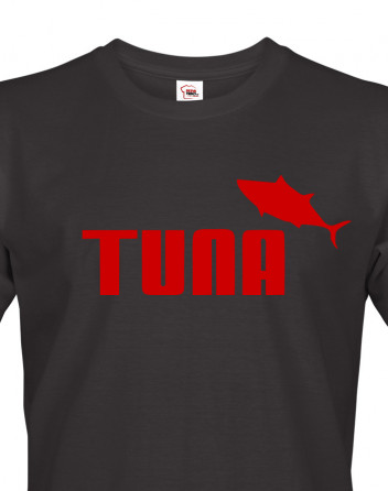 Pánské tričko s potiskem Tuna