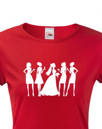 Dámské tričko na rozlučkovou párty