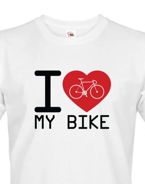 Pánské tričko I love my bike