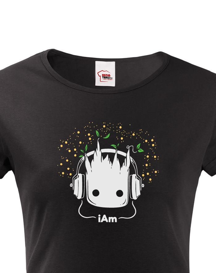 Dámské tričko Groot z filmu Strážci galaxie