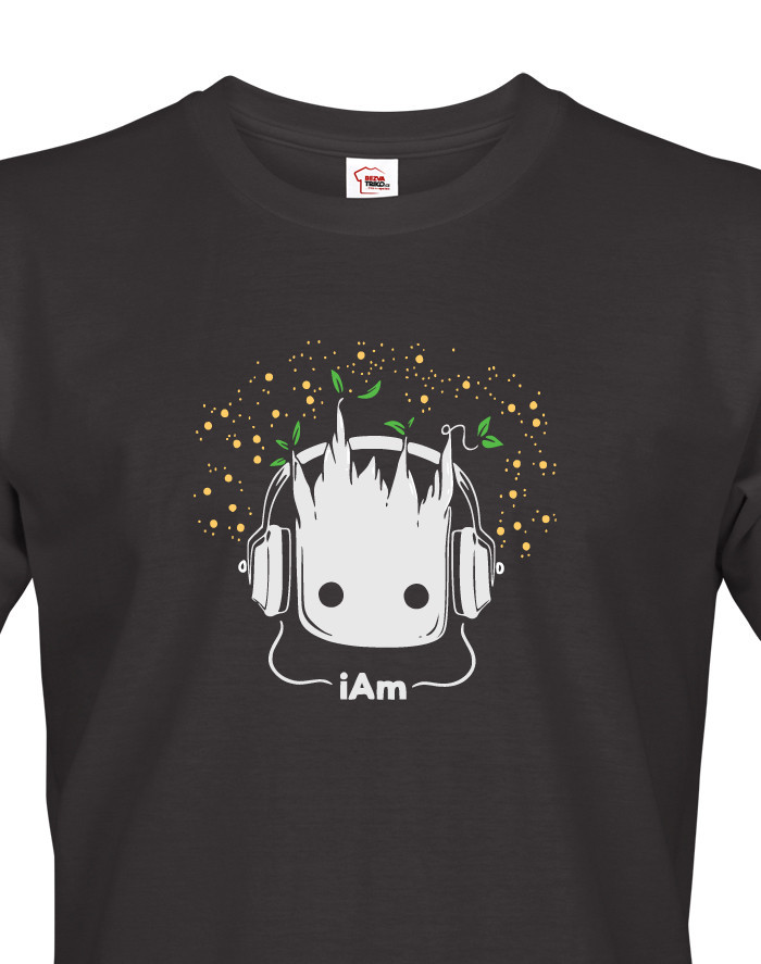 Pánské tričko Groot z filmu Strážci galaxie
