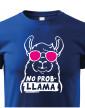 Dětské tričko No Prob - LLama
