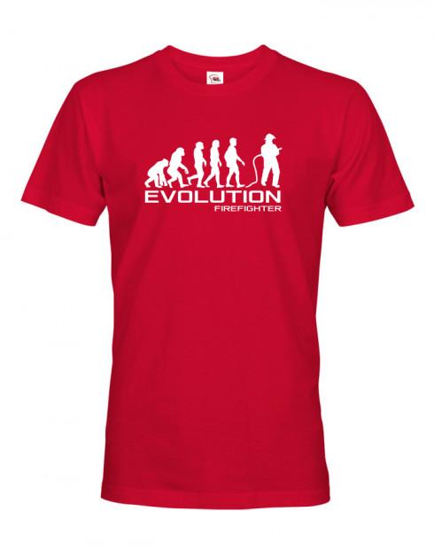 Pánské triko pro hasiče Evoluce