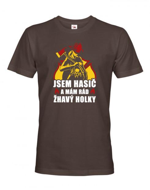 Hasičské tričko Mám rád žhavý holky