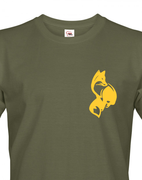 Tričko pro myslivce Liška